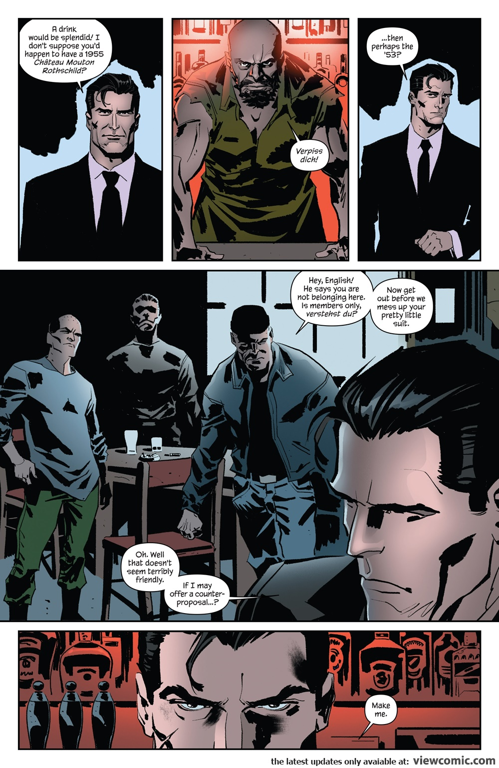 James Bond – Kill Chain 002 (2017)  | Vietcomic.net reading comics online for free