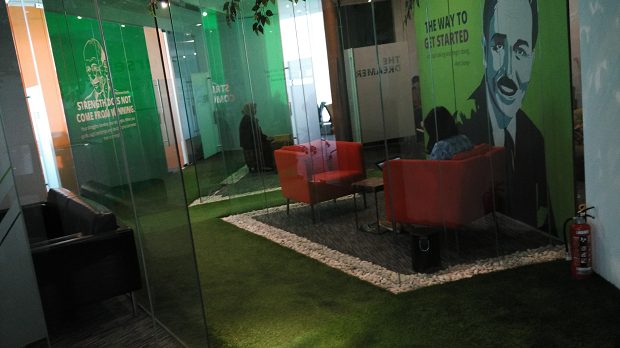 Ruangan Interview Tokopedia Wisma 77 Tower 2 Lantai 2