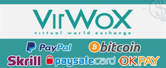 virwox paypal bitcoin skrill okpay paysafecard btc second life sll