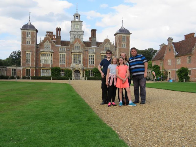 Family at Blickling Hall