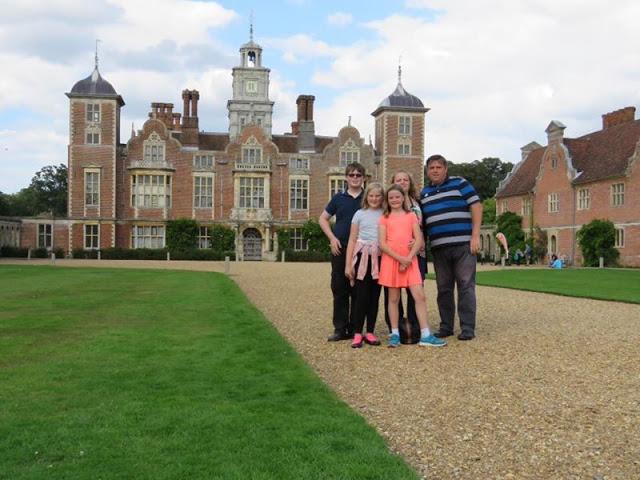 Family at Blickling Hall
