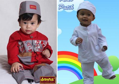 baju muslim anak laki-laki 1 tahun