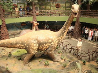 India's First Dinosaur Museum-Cum- Park in Gujarat