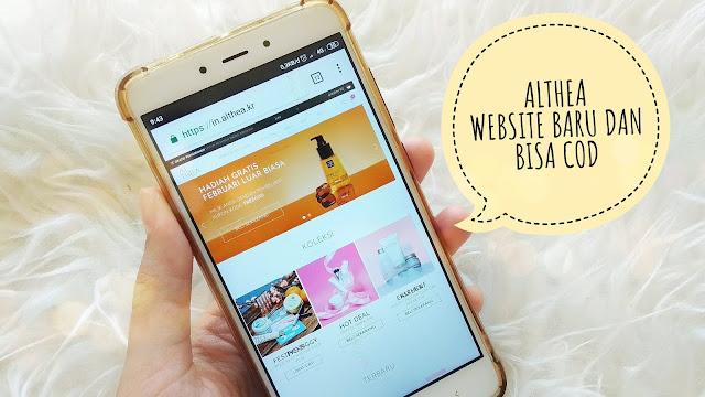 ALTHEA INDONESIA KEMBALI!! WEBSITE BARU DAN BISA COD