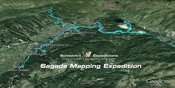 Raw GPS Data - Sagada Mapping Expedition - Schadow1 Expeditions
