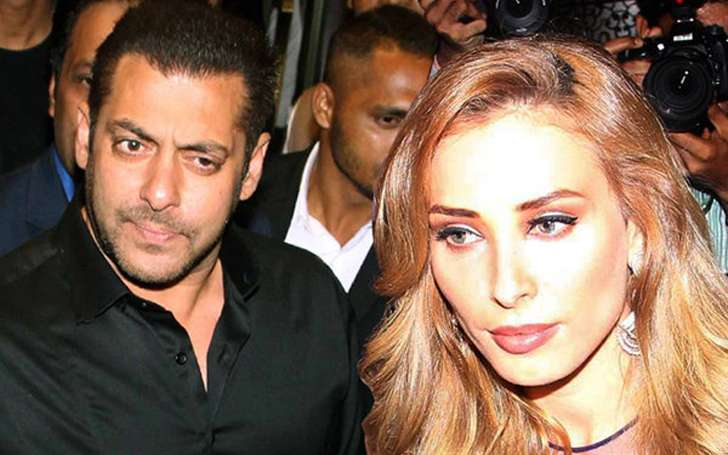 Salman Khan and Luliya Image