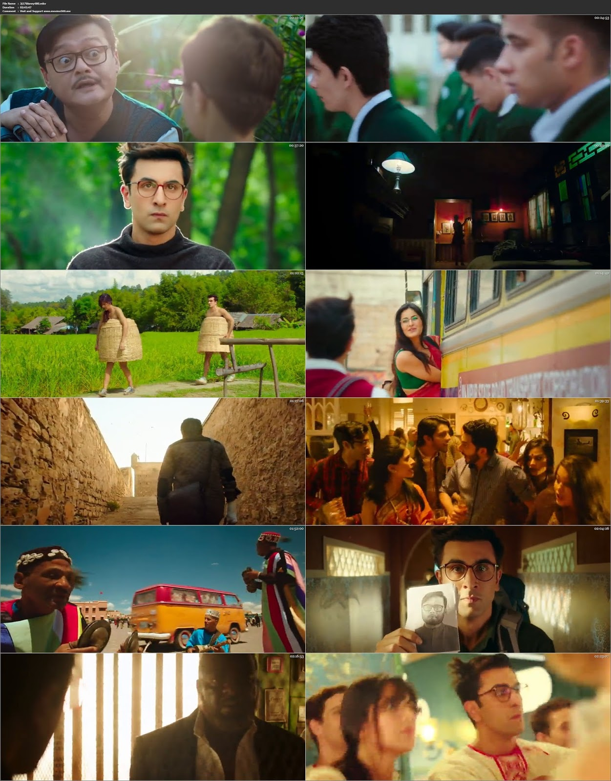 Jagga Jasoos 2017 Bollywood 400MB BluRay 480p at movies500.site