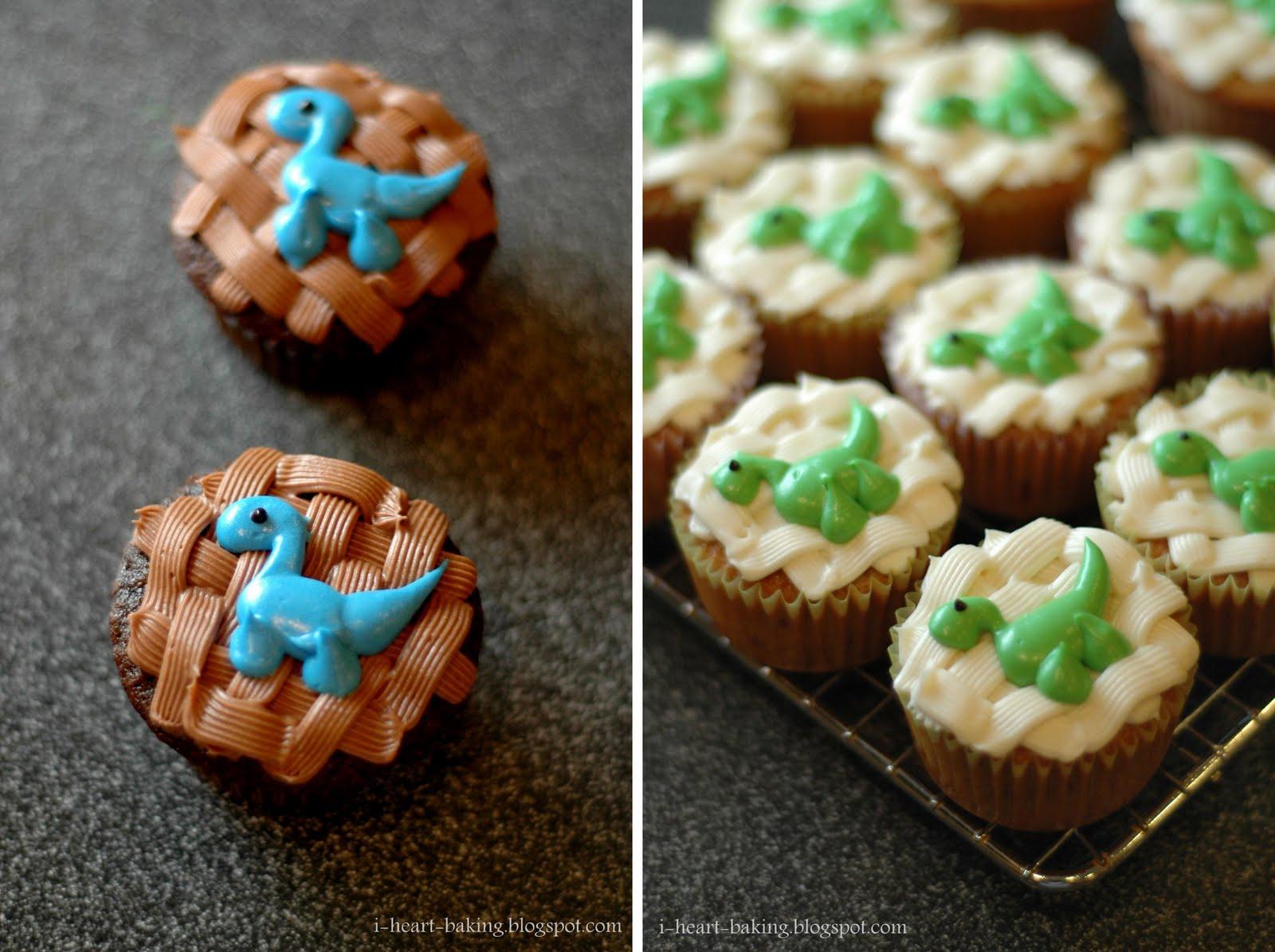 Dinosaurs Cupcakes Cake