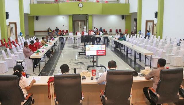 Gugus Tugas Pencegahan COVID-19 Imbau Warga Kota Jayapura Tidak Berkumpul di Tempat Umum