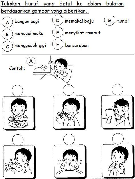 Bahasa Malaysia Prasekolah Latihan Badan Saya