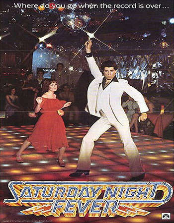 Poster Of Saturday Night Fever 1977 Dual Audio 350MB BRRip 480p ESubs Free Download Watch Online downloadhub.net