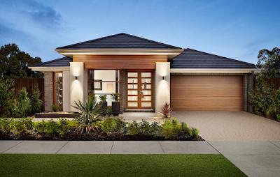 Kumpulan Bentuk Fasad Rumah Minimalis Terbaru 2016 - 001