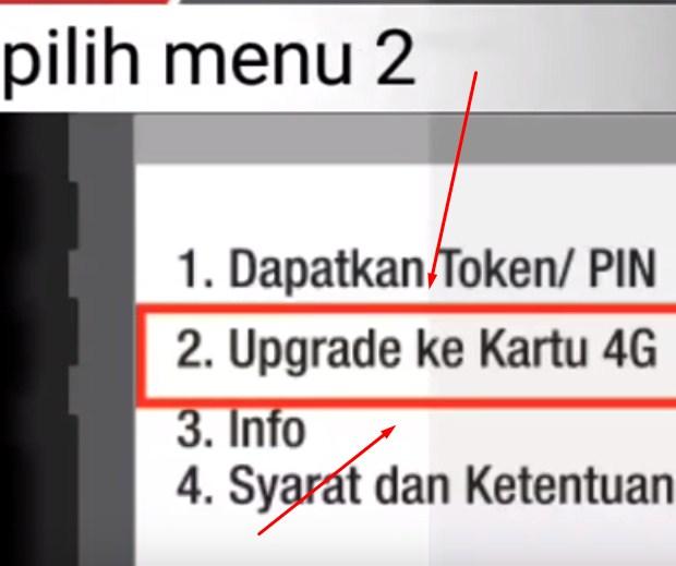 Trik Upgrade Jaringan 4G pada Kartu SIM Telkomsel 2019: LANGKAH KETIGA
