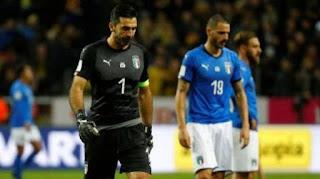Italia Absen di Piala Dunia 2018, Disingkirkan Swedia