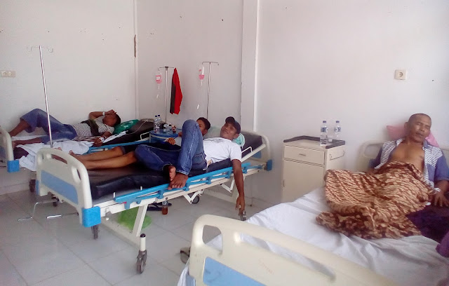 Keracunan Makanan, Lima Orang Narapidana Dibawa ke RSUD Calang
