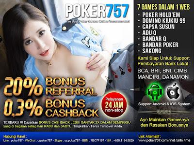 Poker757 Poker Online