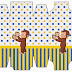 Curious George: Free Printable Boxes.