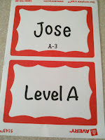 Kindergarten Name Tags