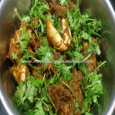 Crab Masala Curry Recipe Andhra Style How to Make