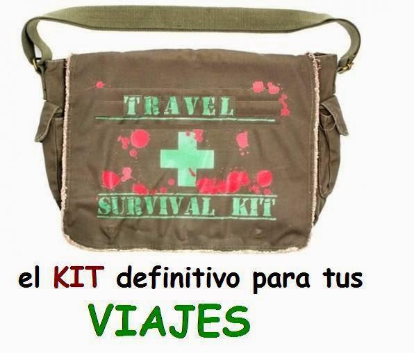 kit supervivencia para viajes