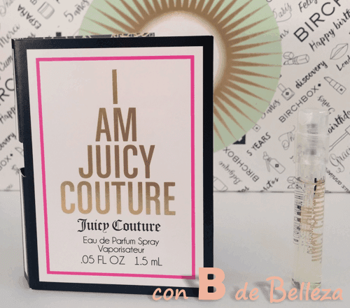 Muestra gratis I am Juicy Couture