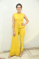 Taapsee Pannu looks mesmerizing in Yellow for her Telugu Movie Anando hma motion poster launch ~  Exclusive 121.JPG