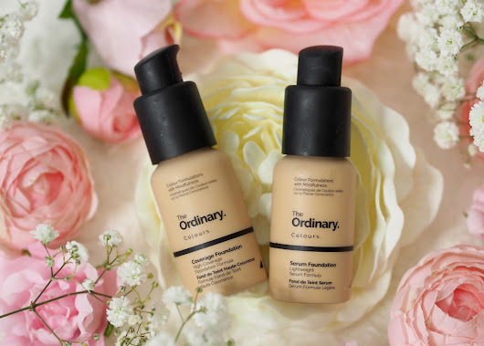 Trying the coverage and serum foundations from The Ordinary at QVC