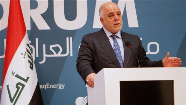 Iraqi Prime Minister Haider al-Abadi : Iraq will never be a place for hostility with Iran