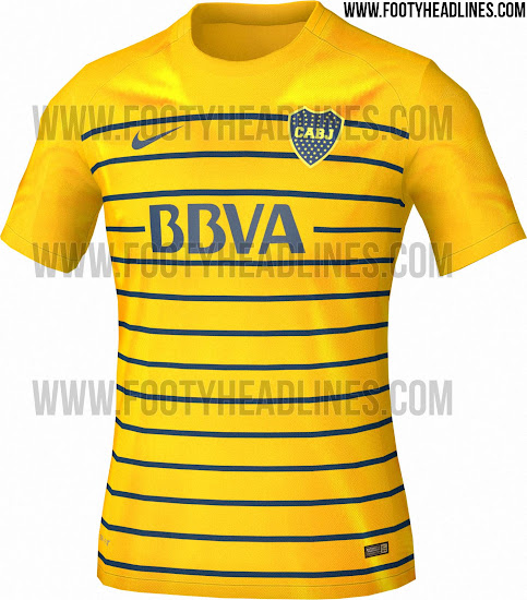 Filtrada la primera imagen de la camiseta suplente de Boca Juniors ... cb75039c6686e