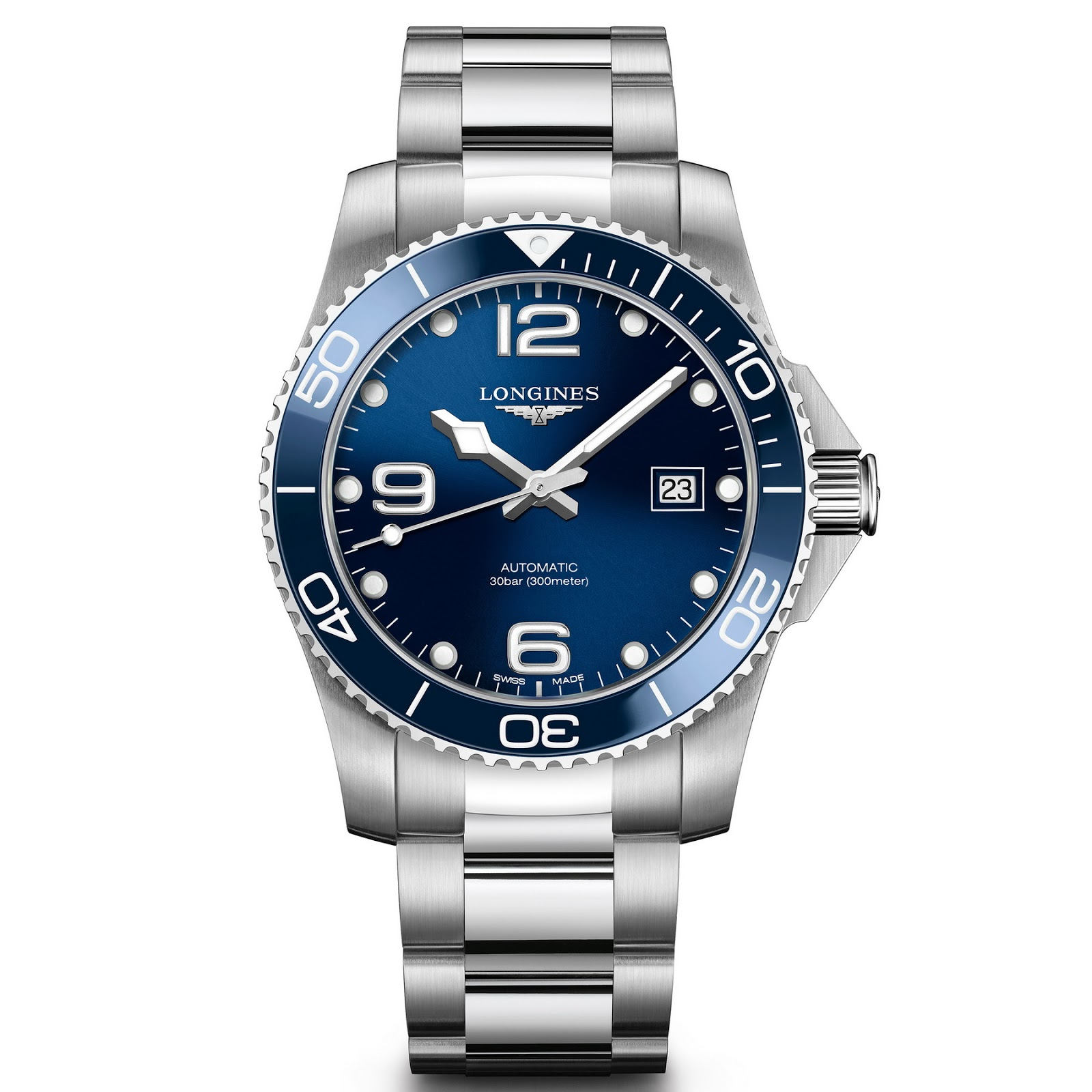 OceanicTime: LONGINES HydroConquest 2018