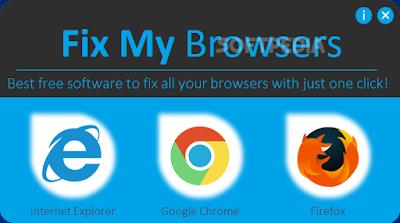 حل معظم مشاكل متصفحات اانترنت ( جوجل كروم - فايرفوكس - انترنت اكسبلورر )