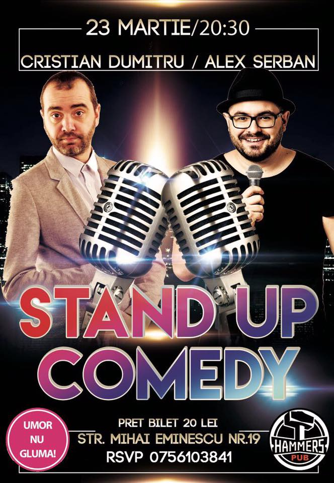 Stand-up Comedy Joi 23 Martie Braila
