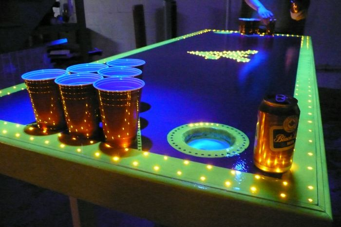45 Creative Beer Pong Tables ~ Damn Cool Pictures