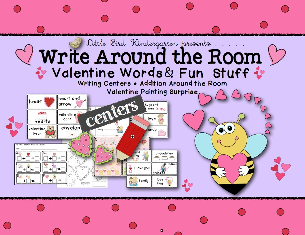 write around the room printables for kids