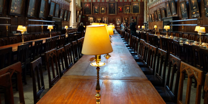 Crist Church College, Oxford.