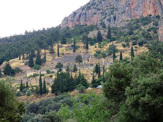 Widok w kierunku Świątyni Apollona.