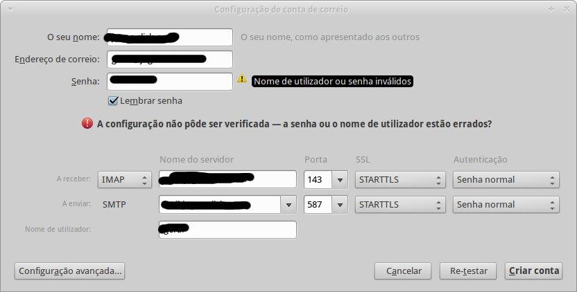 Meu Computador: Configurar uma conta de email com Mozilla