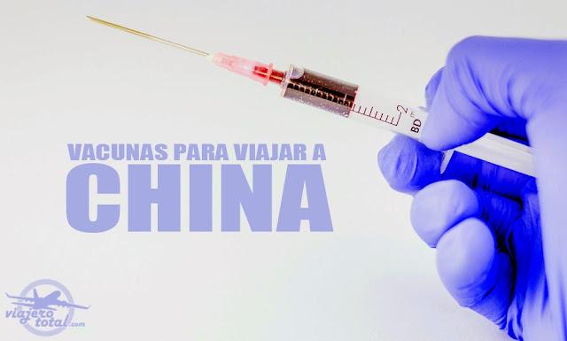 Vacunas para viajar a China