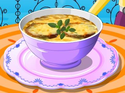 لعبة تحضير حساء البصل الفرنسى