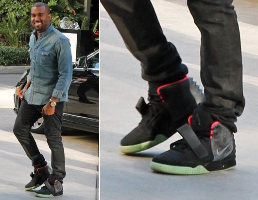 Kanye West And Nike Shoes