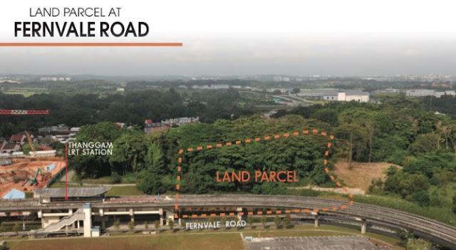 Pac Botania land parcel