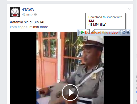 Cara Ampuh Download Video Di Facebook