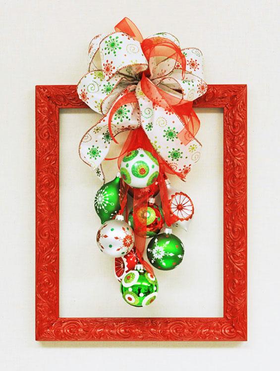 Ben Franklin Crafts and Frame Shop: D.I.Y. Christmas Frame Wreath