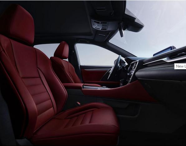 2017 Lexus RX Interior
