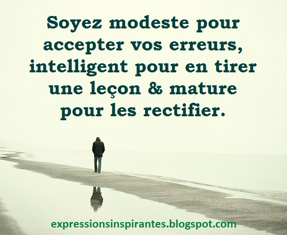 Expressions Accepter Ses Erreurs