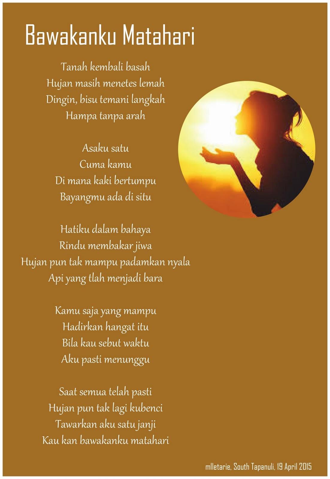 Puisi Matahari Pagi