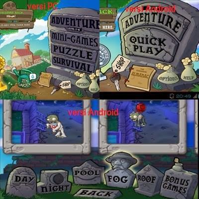 game plants vs zombies android, game android