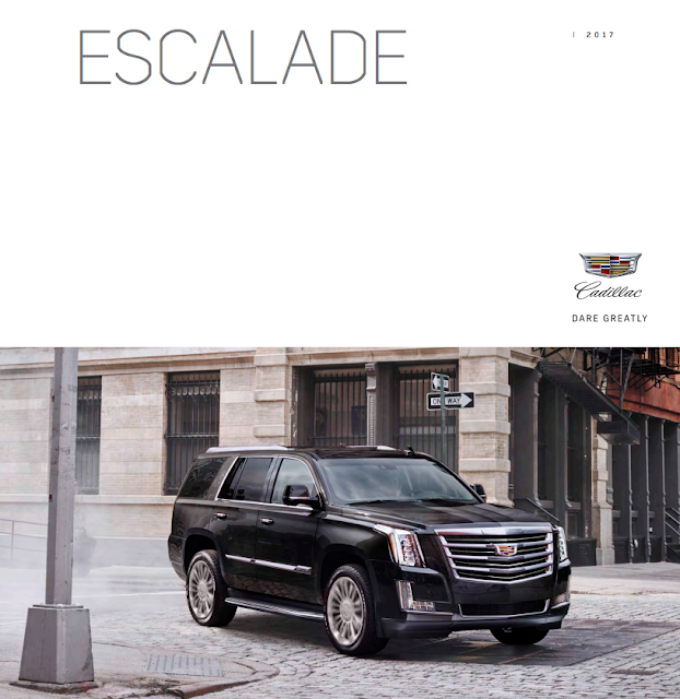 Downloadable 2017 Cadillac Escalade Brochure