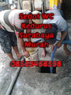 Sedot WC Kedurus Surabaya Murah