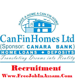 Can Fin Homes Ltd. Recruitment 2019 : JUNIOR OFFICERS ON CONTRACT AND SENIOR MANAGERS ON CONTRACT FOR INSPECTION & AUDIT (110 Posts)[APPLY ONLINE]